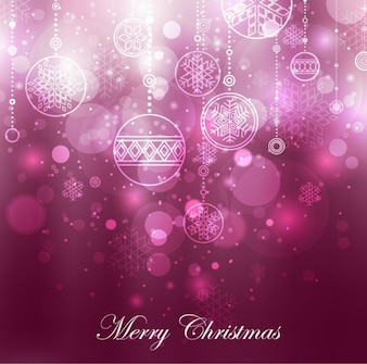 fioletowy dekoracja Boże Narodzenie