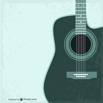 Gitara vector szablon