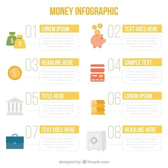 Grafika komputerowa z elementami pieniądze