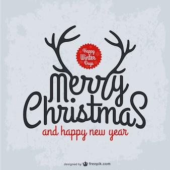 Grunge Boże Narodzenie karty