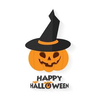 Halloween dynia z ciepłem