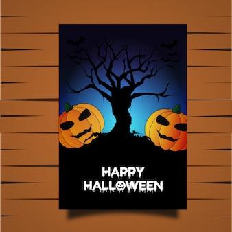 Halloween wektora karty