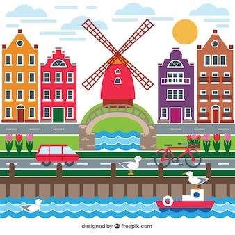 Holenderskie miasto