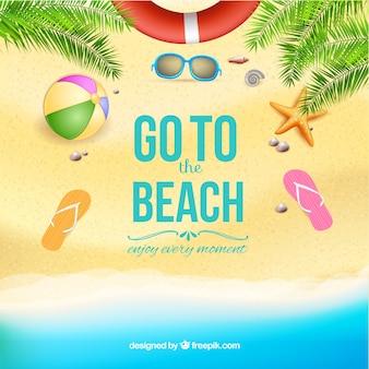 Idź do szablonu plaży