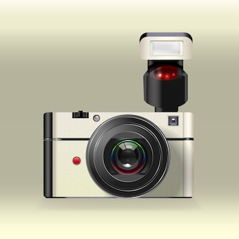 Instant camera wektor
