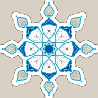 Islamski ornamentem geometrycznym