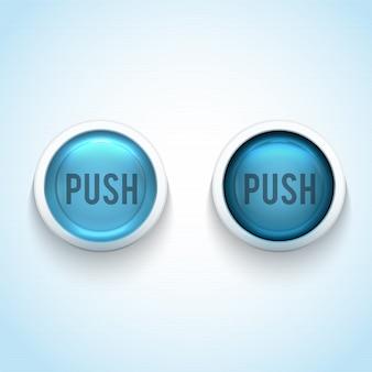 Izolowane przycisków