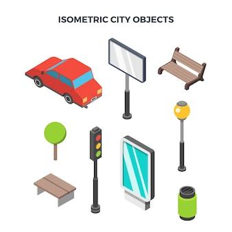 Izometryczne obiekty miasta