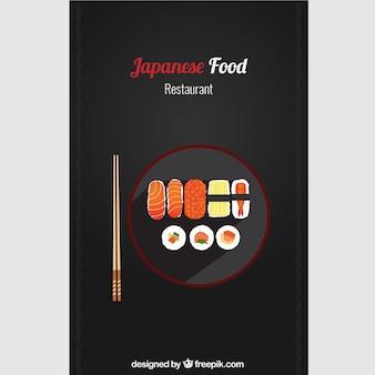 Japońskie jedzenie w restauracji