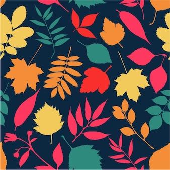 Jesień bez szwu wzór
