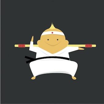 Karate ekspert ikona