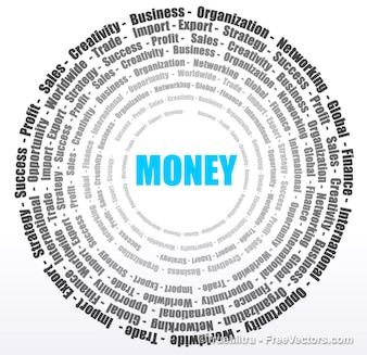 Koło od pieniędzy i biznesu