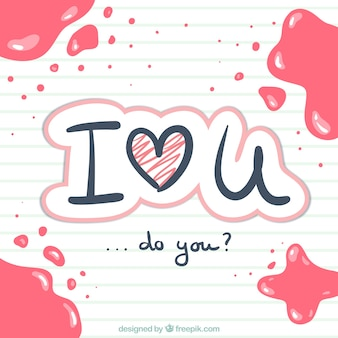 Kocham Cię odręcznie