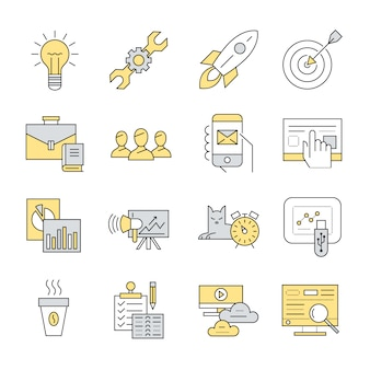 Kolekcja elementów biznesowych