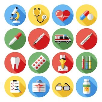 Kolekcja elementów medycznych
