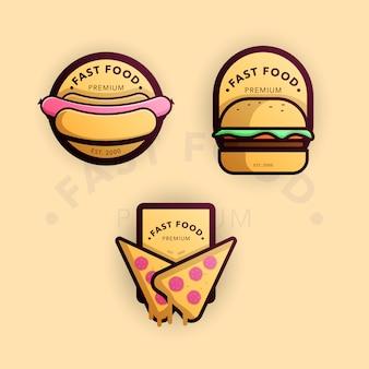 Kolekcja fast foodów