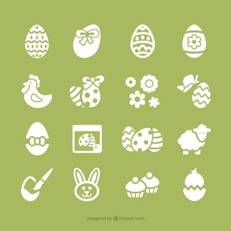 Kolekcja ikon Wielkanoc