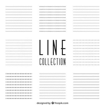 Kolekcja linie