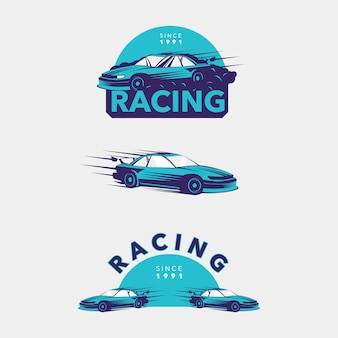 Kolekcja samochodów wyścigowych