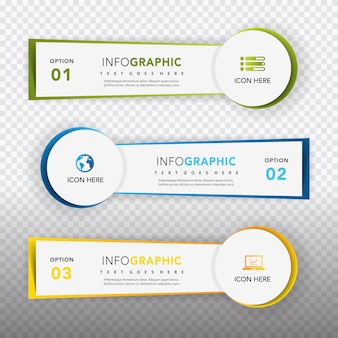 Kolekcja szablonów infograficznych