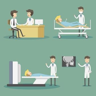 Kolekcja znaków doktorów