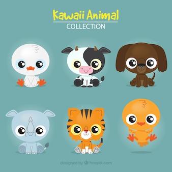 Kolekcja zwierząt Kuwaii