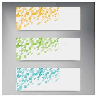 Kolor trójkąta wektorowe