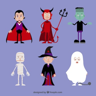 Kostiumy Halloween kolekcja