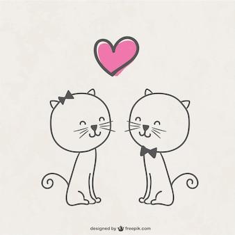 Koty w miłości