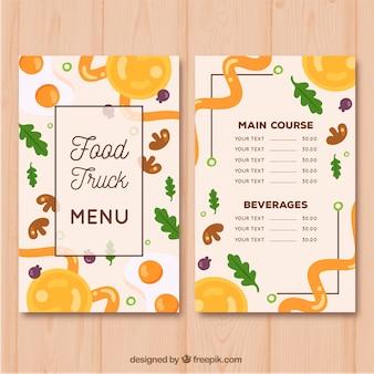 Kreatywne menu restauracji