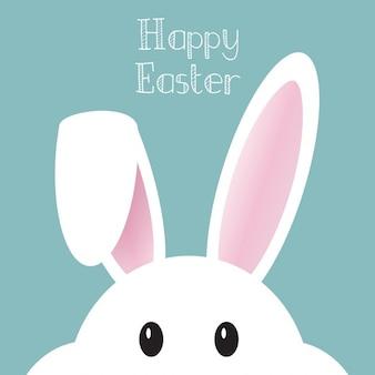 Śliczne tło z Easter Bunny