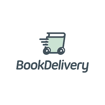 Logo dostarczania książek