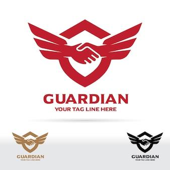 Logo wstrząsów i skrzydeł