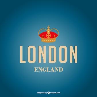 Londyn wektor plakat