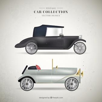 Luxury archiwalne samochód kolekcji