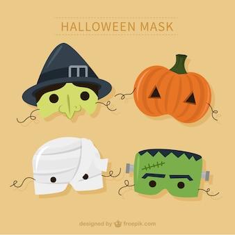 Maski na Halloween Pack