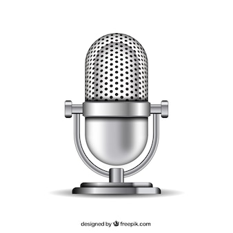 Metallic mikrofonu