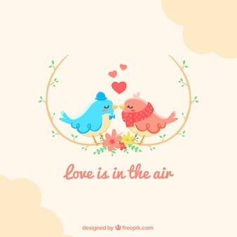 Miłość wzór tła