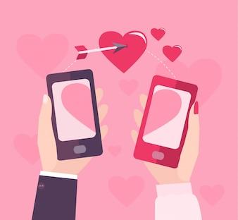 Mobile Walentynki.