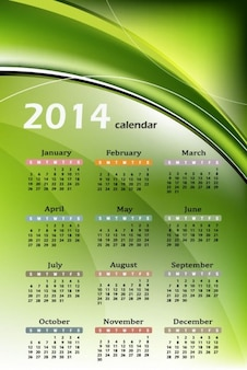 Naturalny kalendarz 2014