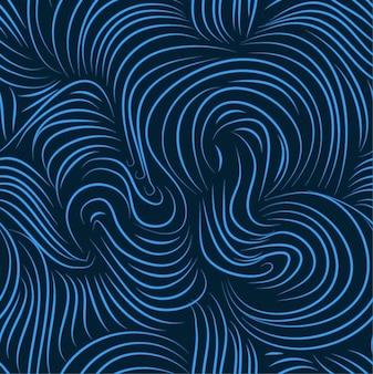 Niebieski bez szwu wektorowe sztuki