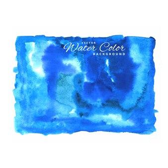 Niebieski wektor wody kolor tła