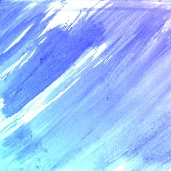 Niebieski wody kolor szczotki wykonane teksturę tła