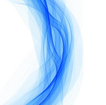 Niebieskie faliste tło