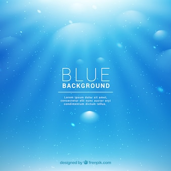 Niebieskie tło bokeh