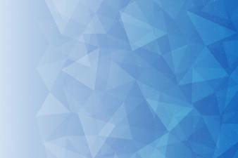 Niebieskie Tło Wektorowe. Wielokąt Streszczenie Wzorzec Projektu