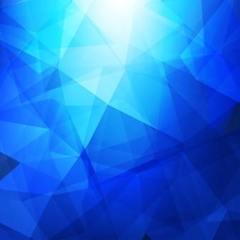 Niebieskie Tło Wieloboku