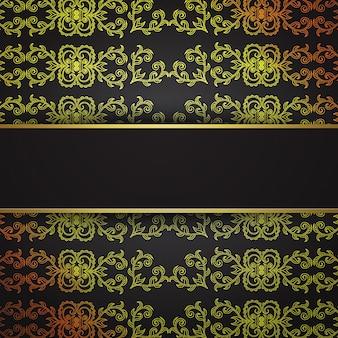 Niesamowite luksusowe wzory wektorowe