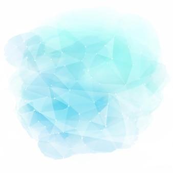 Niski poliuretanowy wzór na fakturze akwarelowej