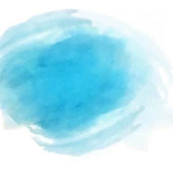 Nowoczesne niebieskie tło akwarela